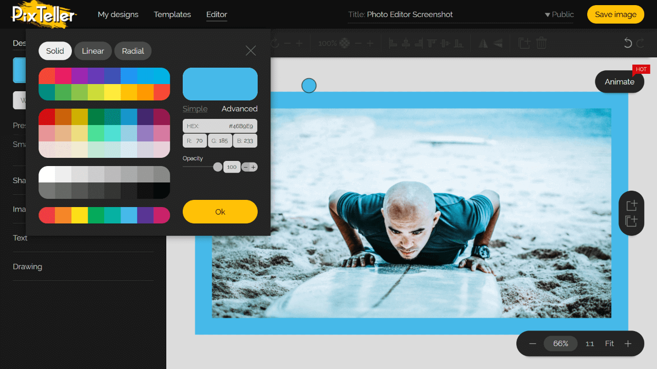 Free Online Photo & Animation Maker Tool well known Screen Shot