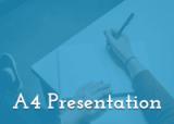 A4 Presentation