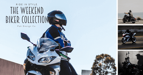 Ride in Style - The Weekend Biker Collection Card Example