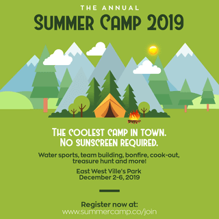Summer Camp Invitation Example