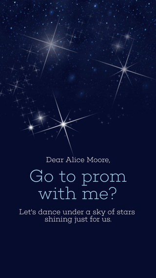 Go to Prom with Me - Smartphone Wallpaper easy to Personalize