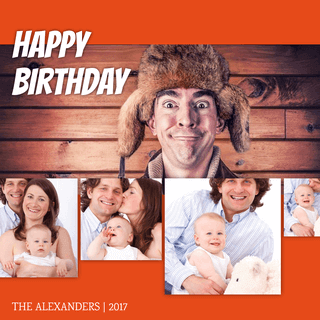 Birthday Photo Collage Layout to Impress Your Family and Friends