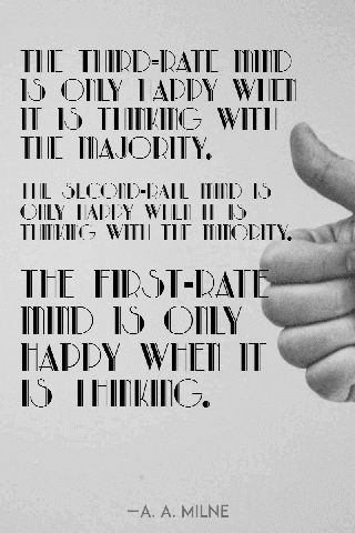 Black and White Quote Poster Example Easy to Use and Personalize