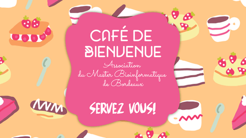 Cafe de Bienvenue - Pinky Youtube Thumbnail Example