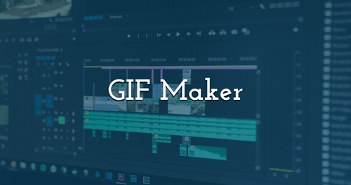 Make your own Animated GIFs