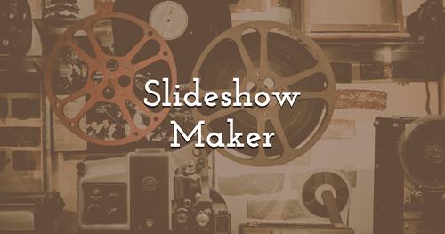 Make your own Slideshows