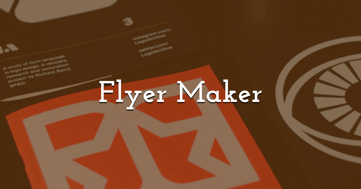 Online Flyer Maker Create Free Printable Flyers In Pixteller